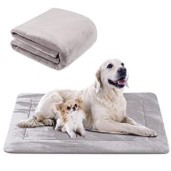 Doux Coussin Pour Chien, Tapis Panier de Antidérapant et Lavable, Luxe Couverture XL Hero Dog