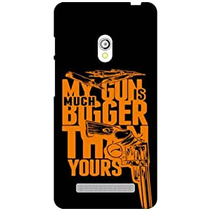 Via flowers My Gun Is Big Matte Finish Phone Cover For Asus Zenfone 5