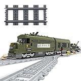 VERY100 18x Gerade Schienen Kurvenschienen Gleise Flexible Schienen (Gerades Gleis dunkle)