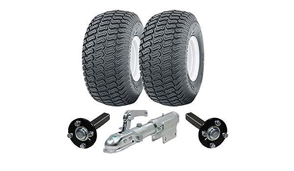 Parnells Extra heavy duty ATV trailer quad kit 900kg wheels hub /& stub axles swivel hitch