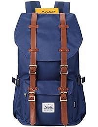 Fafada Rucksack Herren Damen Kinder Rucksack Retro Wasserabweisend Nylon Daypack Schulrucksack Laptoprucksack Backpack