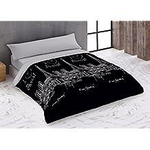 FUNDA NÓRDICA cama de 135 cm PIERRE CARDIN (2 PIEZAS) LOVE - NEGRO