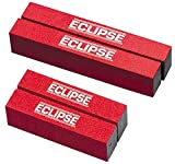 ECLIPSE MAGNETICS E845 BAR MAGNET RECTANGULAR 40X12.5X5MM X2 [Pack Size: 2] (Epitome Certified)