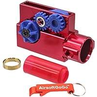 SHS CNC Aluminio Masada C?mara hop up Set para Magpul PTS Masada Airsoft AEG - AirsoftGoGo Llavero Incluido