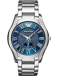 64321abf180f Emporio Armani Reloj Analógico para Hombre de Cuarzo con Correa en Acero  Inoxidable AR11085