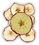 Getrocknete Apfelscheiben rot - Deko-Apfelscheiben - Fruchtscheiben - Floristenbedarf - 1000g