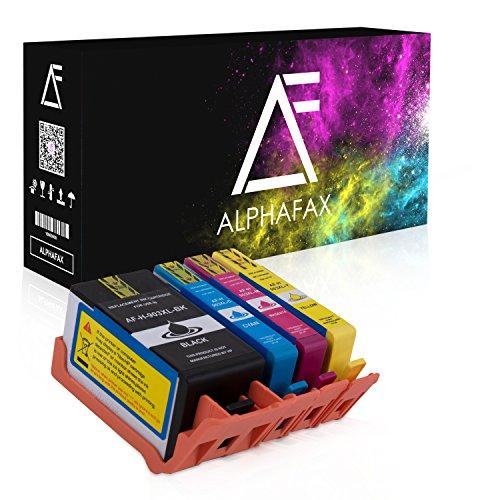 Alphafax 4 Druckerpatronen Kompatibel für HP 903XL 903 XL