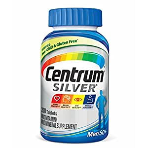 Centrum Silver Men 50+, 200-Count Bottle