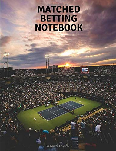 Matched Betting Notebook: Tennis Theme por Jack Green