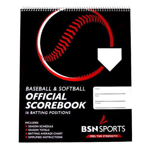 BSN Sports Baseball/Softball Scorebook