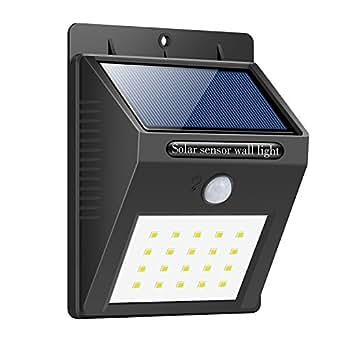 Lampe solaire 20 led eclairage exterieur imperm able sans - Commande eclairage exterieur sans fil ...