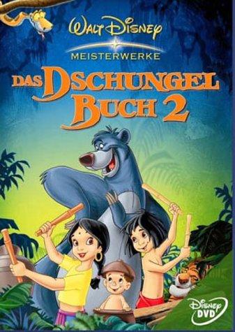 Das Dschungelbuch 2 (Disney Meisterwerke) [DVD] - Dvd Dschungelbuch-film Disneys