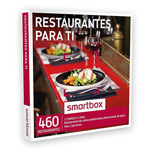 SMARTBOX – Caja Regalo – RESTAURANTES PARA TI – 460 restaurantes de cocina mediterránea, internacional, tradicional, de tapas…