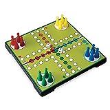 Juego JU01012 Ludo Magnetspiel, Reisespiel & Kompaktspiel, Gesellschaftsspiel - Mehrfarbig