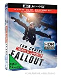 Mission: Impossible 6 - Fallout (4K UHD) Limited Steelbook (+ Blu-ray 2D)