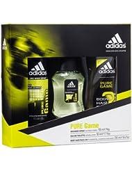 Adidas pur Jeu Spray corporel, eau de toilette en spray et gel douche Trio Ensemble cadeau