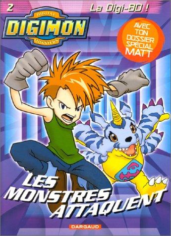 Digimon, tome 2 : Les monstres attaquent par Daniel Horn