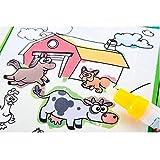 Puzzle Dekompression Spielzeug,ALIKEEY Magisches Wasser-Zeichnungs-Buch-Malbuch-Gekritzel-Magische Stift-Tier-Malerei