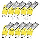 Generic 1pc MECO 2G 2GB USB 2.0 USB Flash Drive Memory Stick Thumb Pen U Disk Shool Office (Yellow)