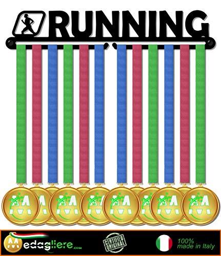 Sport Medaillen Anzeige - Medaille Wand - Medal display (RUNNING design) - Messe-medaille