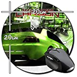 Need for Speed Carbon NFS Tappetino per Mouse Tondo Round Mousepad PC