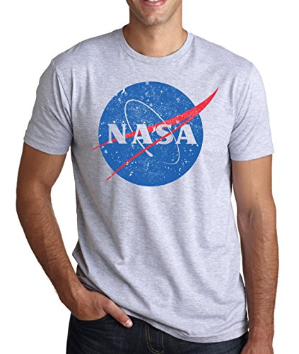 Nasa Vintage Logo Men's T-Shirt Large