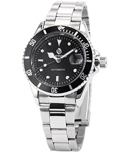 EASTPOLE Elegante Klassisch mechanische Automatik Herrenuhr Armbanduhr Uhr + EASTPOLE Geschenkbox PMW111