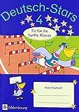 Deutsch-Stars - Allgemeine Ausgabe: 4. Schuljahr - Fit für die 5. Klasse: Übungsheft. Mit Lösungen