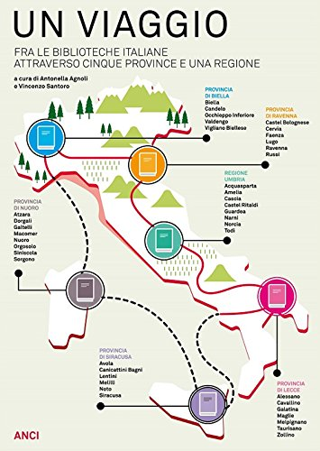 Un viaggio tra le biblioteche italiane attraverso cinque province e una regione