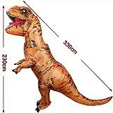 Aufblasbare Dinosaurier T-Rex Kostüm Party Fancy Kleid Cosplay Outfit - 3