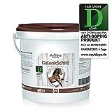 AniForte Gelenk-Schild Natürlicher Gelenk-Schutz 1 kg für Pferde, Neue Mobilität und Fitness für den Bewegungs-Apparat, Mit Hagebutte, Collagen und Ginkgo