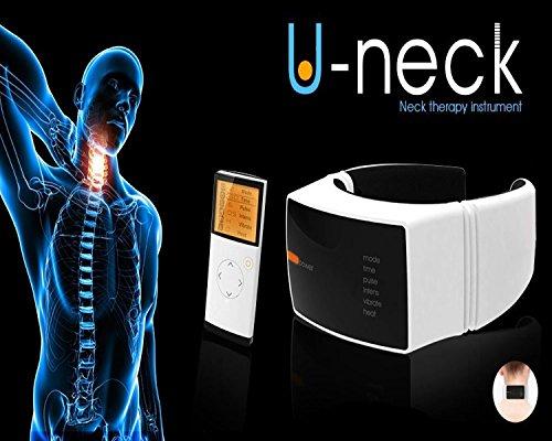 U-Neck: Nackenmassagegerät zur Linderung von Schmerzen im Halswirbelbereich