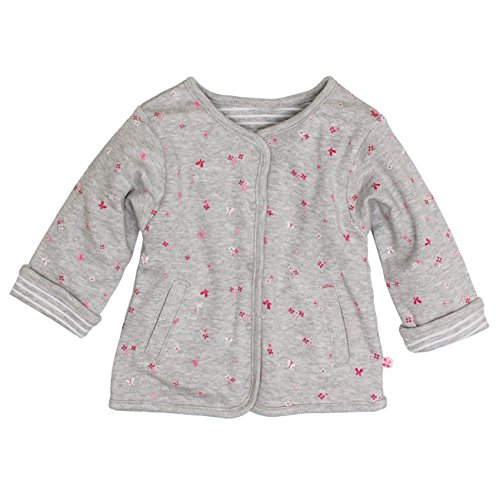 (SALT AND PEPPER Baby-Mädchen Jacke NB Jacket Sunshine Reversible, Grau (Grey-Melange 212), 68)