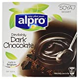 Alpro Soya Dessert Dunkle Schokolade 4x125g
