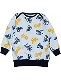Kadambaby - 100% Cotton sweatshirt for baby Boy, Winter baby cloths, Baby DIGGER baby wear