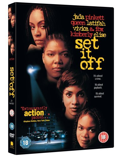 Set It Off [DVD] by Queen Latifah (Latifah Dvd Queen)