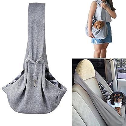 OSPet Companet Pet Carrier Sling Soft Comfortable Reversible Dog Pouch Front Shoulder Pack Backpack Pouch Shoulder Carry… 2