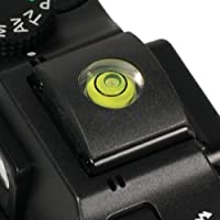 Foto&Tech Tapa para zapata flash 2en 1zapata con nivel de burbuja para Panasonic Lumix DMC-LX100/FZ1000/ ZS50/FZ300/FZ200/LX7/GH4/GH3/G7/GX8/LX100S/GX8/GM5