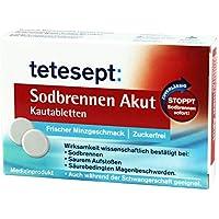 Tetesept Sodbrennen Akut Kautabletten, 20 St preisvergleich bei billige-tabletten.eu