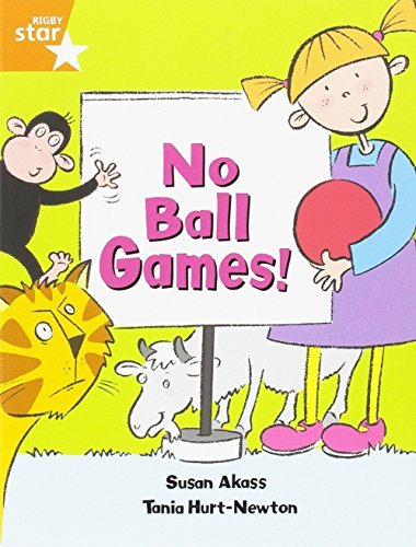 Rigby Star Guided: No Ball Games Orange LEvel Pupil Book (Single): Orange Year 2/P3
