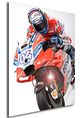 ort - Moto GP - Andrea Dovizioso A3 42x30 ()