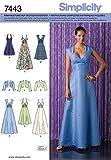 Simplicity Schnittmuster 7443 R5 Abendkleid & Bolero Gr. 40-48