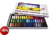 Inscribe - Set di gessetti da disegno, 48 colori