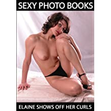 Elaine Shows off Her Curls - Sexy Picture Book (English Edition)