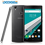 Unlocked Cell Phones, DOOGEE X5 MAX PRO 4G 5 Inch Smartphone, Android 6.0 16GB ROM, 4000mAh Battery(Warranty) - Black