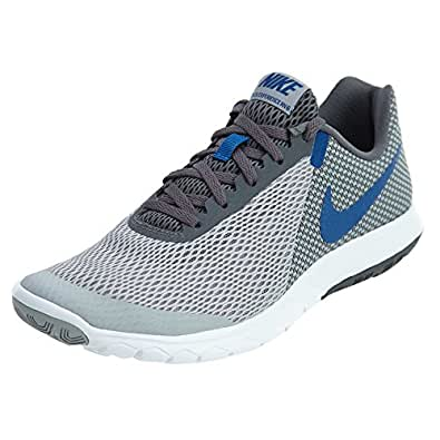 54b1569d650 ... sale nike flex experience rn 6 mens running shoes wolf grey gym blue  dark grey white