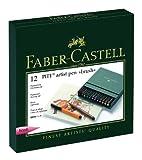 Faber-Castell 167146 - Set rotuladores Pitt Artist Pen (12)