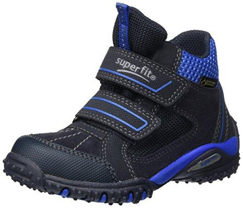 Superfit Jungen SPORT4 Hohe Sneaker, Blau (Ocean Kombi), 41 EU