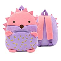Moneycom Baby Girls Boys Children Cute Cartoon Animal Backpack Toddler School Bag Backpack Water Resistant Lightweight Unisex Waterproof e One size