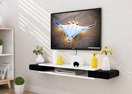 Wandregal TV-Schrank-Set - Top-Box Regale Wohnzimmer TV Wand Hintergrund Wand Hängende Schlafzimmer Trennwände Wanddekoration Wandhalterung Ablage (Farbe : 5*)